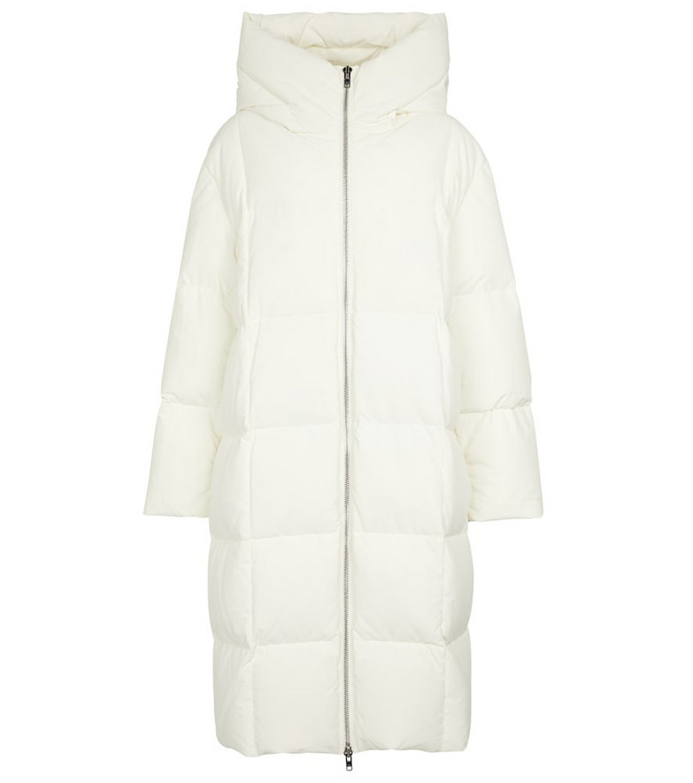 Stand Studio Saylor quilted down coat in white