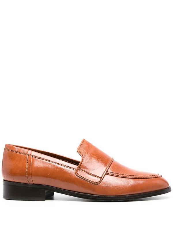 Tila March Hickory loafers in brown