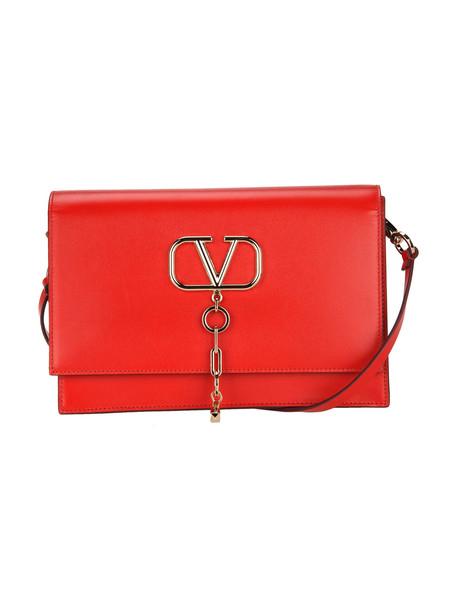 Valentino V Case Shoulder Bag in red