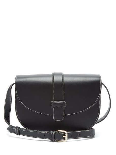 A.P.C. A.p.c. - Eloise Leather Saddle Bag - Womens - Black