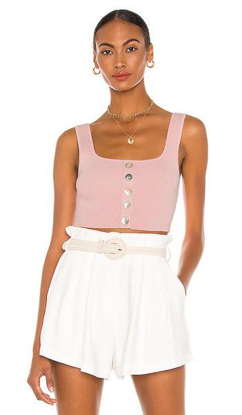 LPA Alena Top in Pink in blush