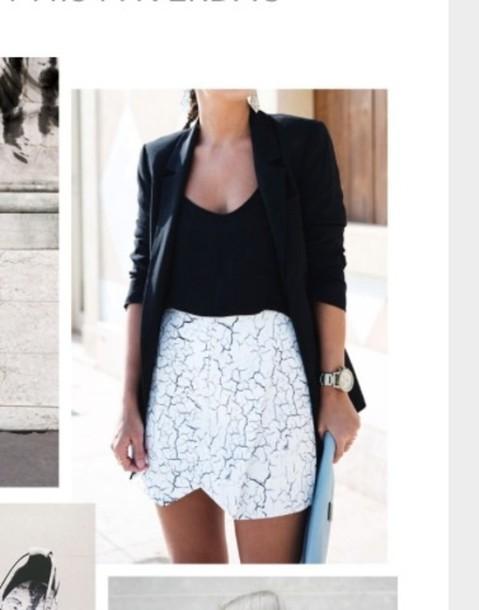 skirt marmor pretty white now bottom grey black want!!!!