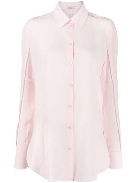 Nina Ricci long-sleeve shirt in pink