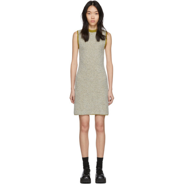 Eckhaus Latta Beige Clavicle Dress