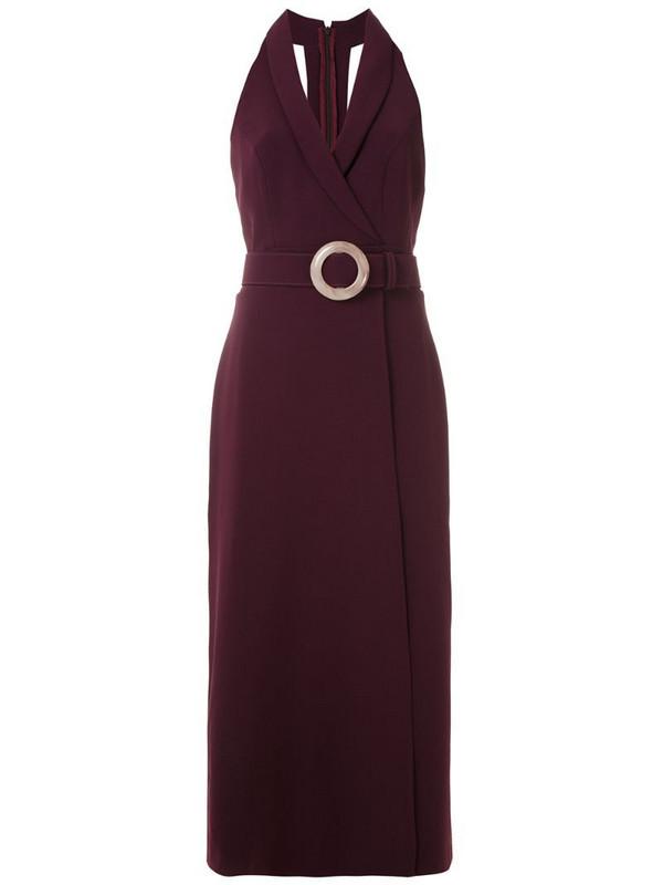 Framed High Tailoring midi dress in purple