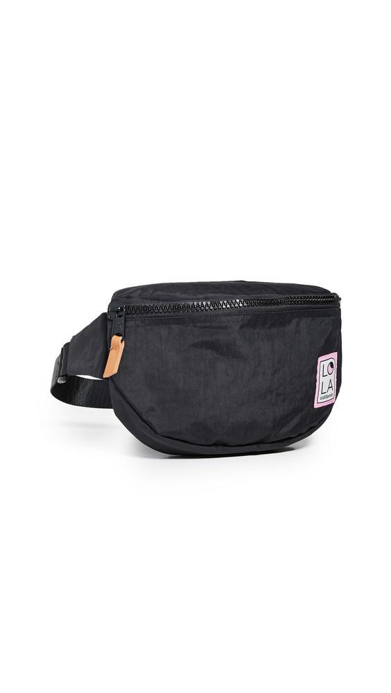 LOLA Moonbeam Large Bum Bag in black