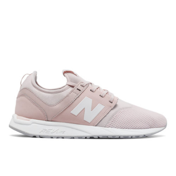 New Balance 247 Classic Women's Sport Style Shoes - Pink/White (WRL247SC)