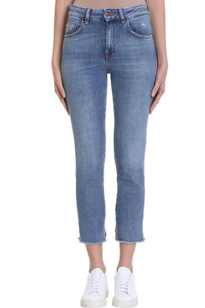 Mauro Grifoni Light Blue Denim Jeans
