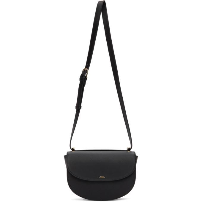 A.P.C. A.P.C. Black Geneve Bag