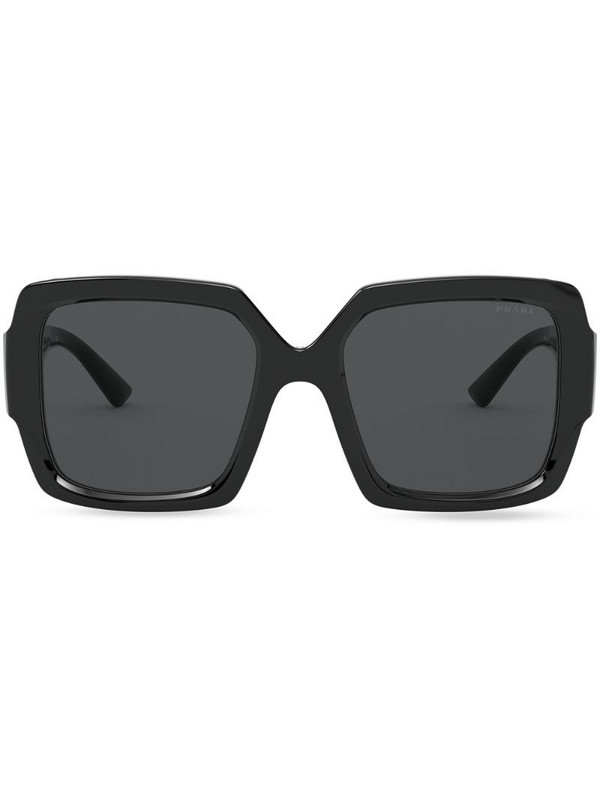 Prada Eyewear square-frame sunglasses in black