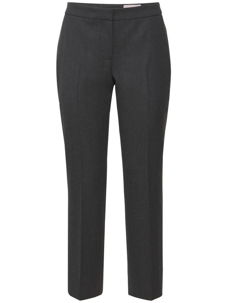 ALEXANDER MCQUEEN Wool Tailoring Pants in grey
