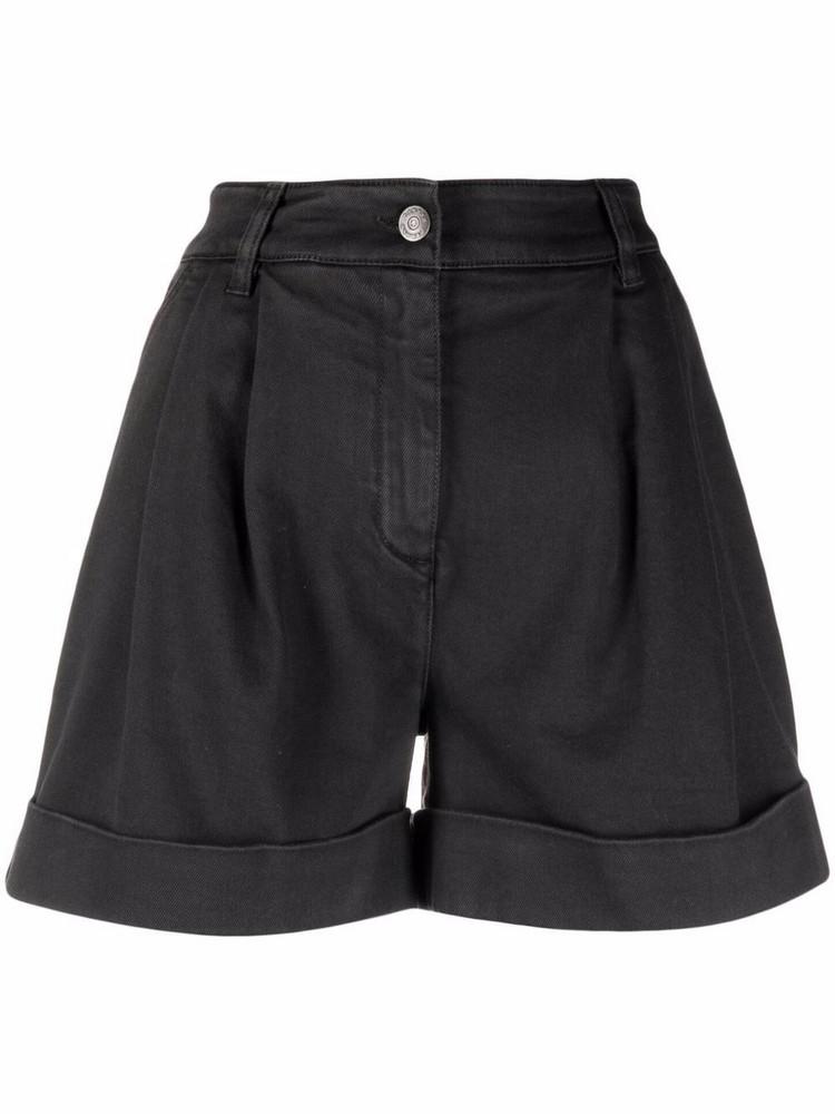P.A.R.O.S.H. P.A.R.O.S.H. high-waisted shorts - Black