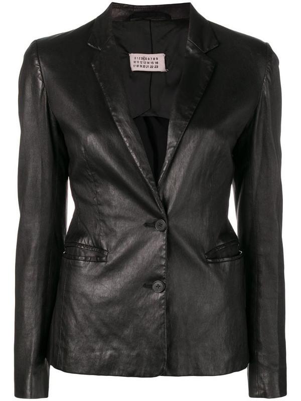 Maison Martin Margiela Pre-Owned 1990's buttoned blazer in black