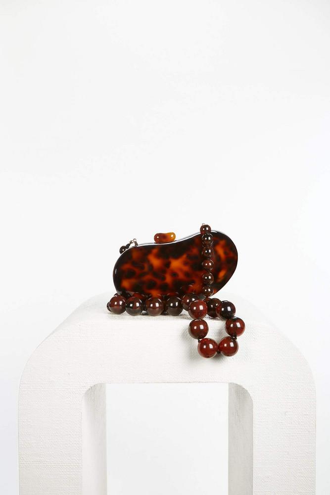 Cult Gaia Tallulah Shoulder Bag - Tortoise (PREORDER)                                                                                               $298.00