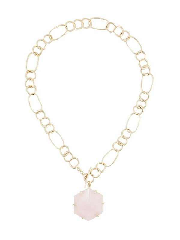 Cornelia Webb Crystalised necklace in gold
