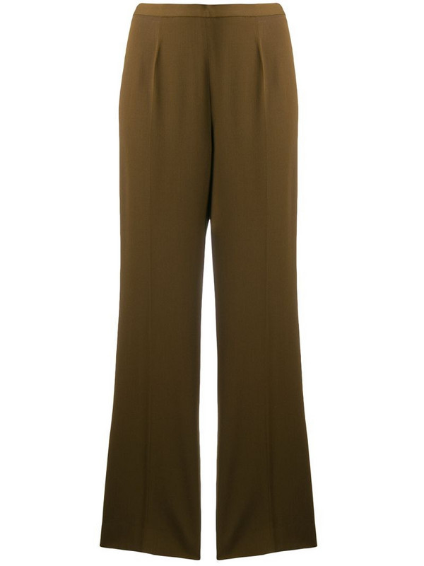 Jean Paul Gaultier Pre-Owned tailored straight trousers in brown