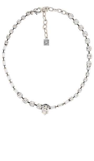DANNIJO Altair Necklace in Metallic Silver