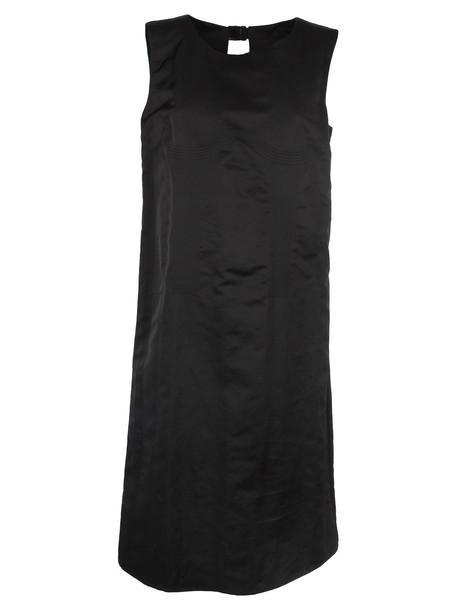 Maison Margiela Maison Martin Margiela Jacquard Mini Dress in black