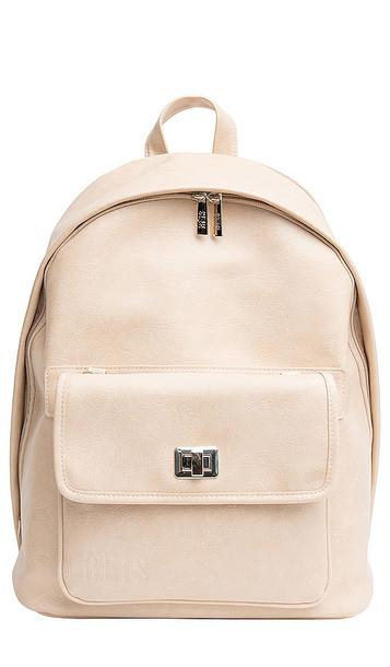BEIS The Multi-Function Backpack in Beige