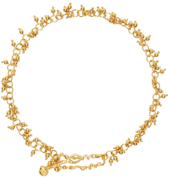 Alighieri Gold 'The Scintillations Together' Choker Necklace