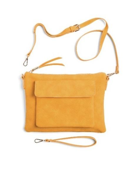 bag shirtless yellow crossbody bag purse clutch