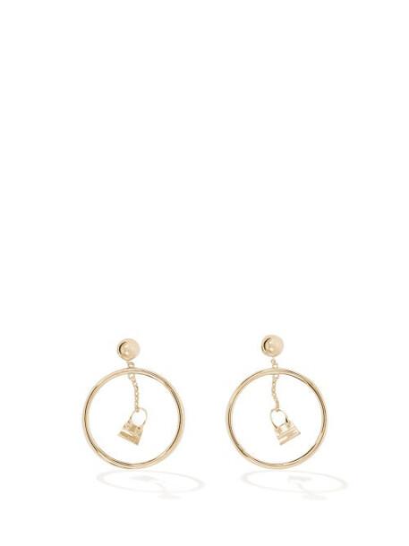 Jacquemus - Anneau Chiquito Hoop Earrings - Womens - Gold