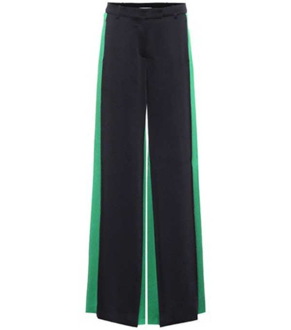 Valentino Satin trousers in blue