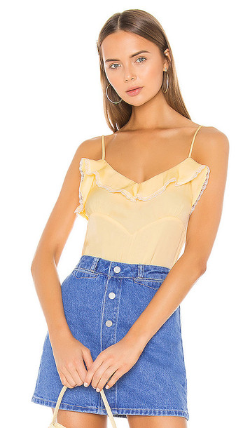 LPA Emma Top in Yellow