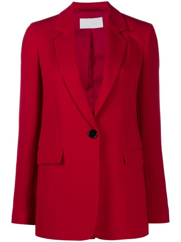 BOSS tailored blazer in red