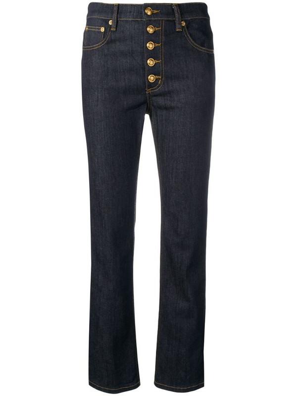 Tory Burch multi button jeans