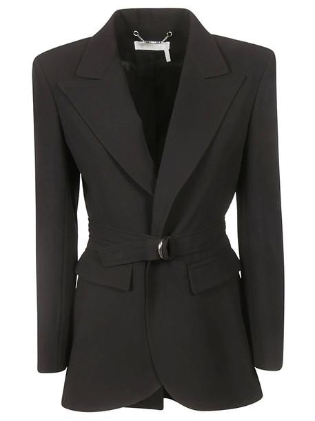 Chloé Chloé Single Breasted D Ring Blazer in black
