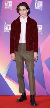 jacket,burgundy,velvet