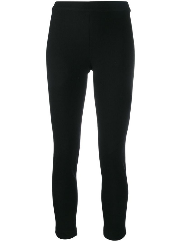 Ann Demeulemeester slim-fit layering trousers in black