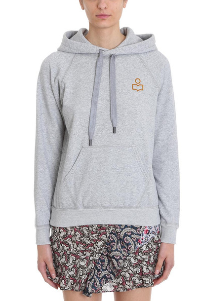 Isabel Marant Étoile Malibu Hoodie Sweatshirt in grey
