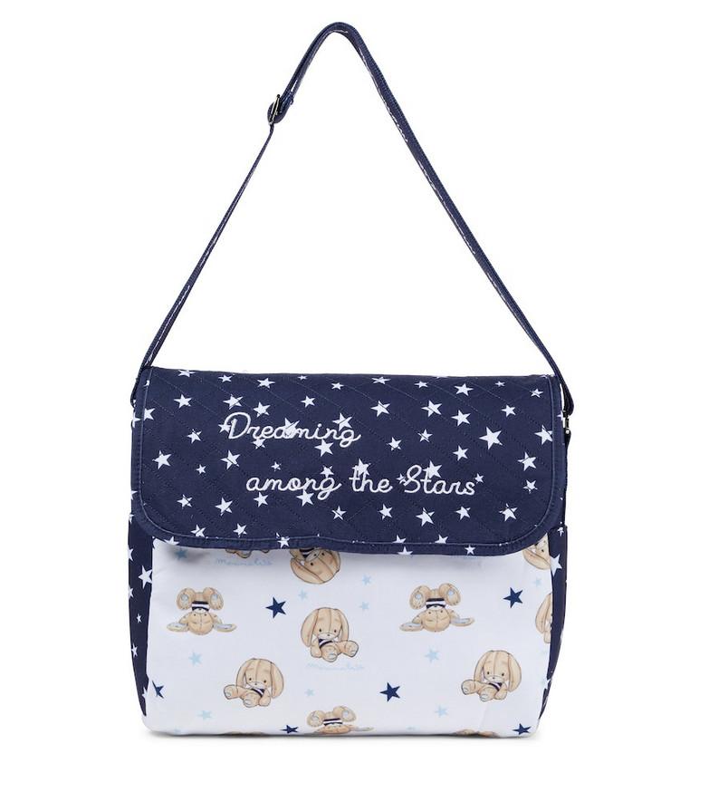 Monnalisa Baby changing bag in blue