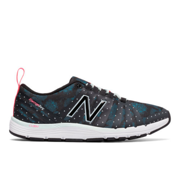 New Balance 811 Print Trainer Women's Recently Reduced Shoes - Blue/Black (WX811A4)