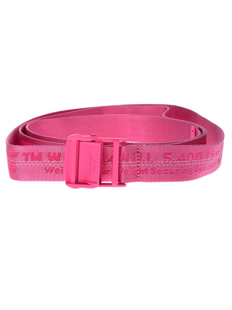 Off-white Industrial Tape Belt