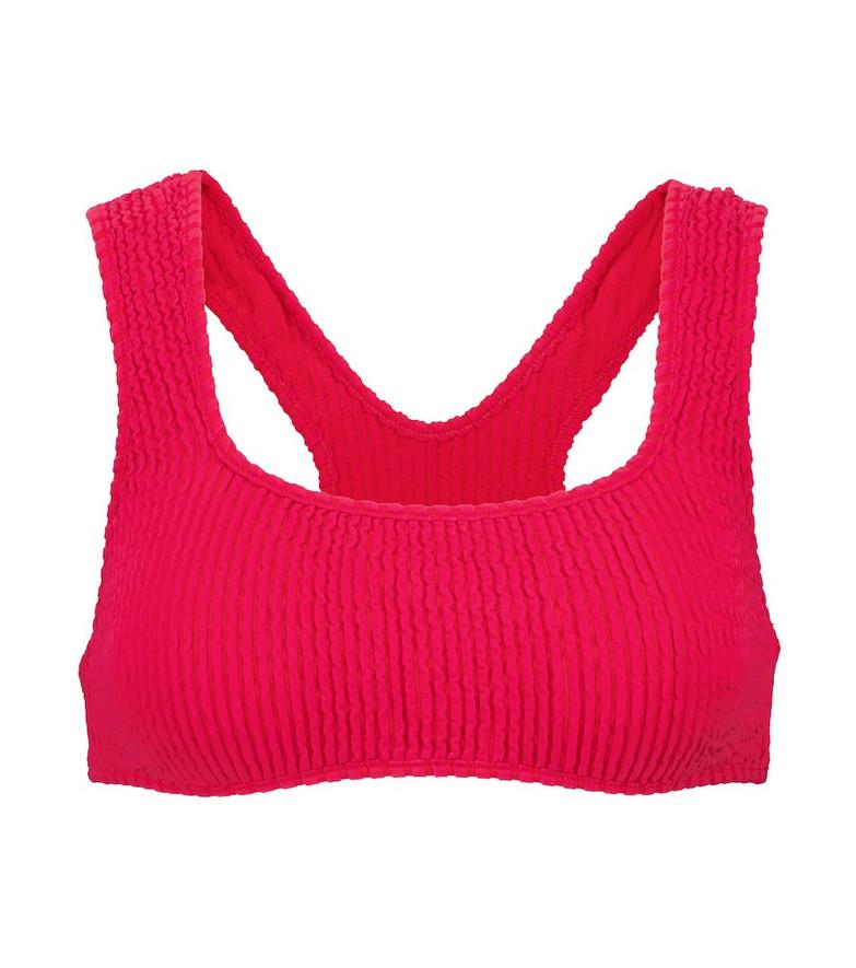 Tropic of C Exclusive to Mytheresa –  Scorpio bikini top in pink