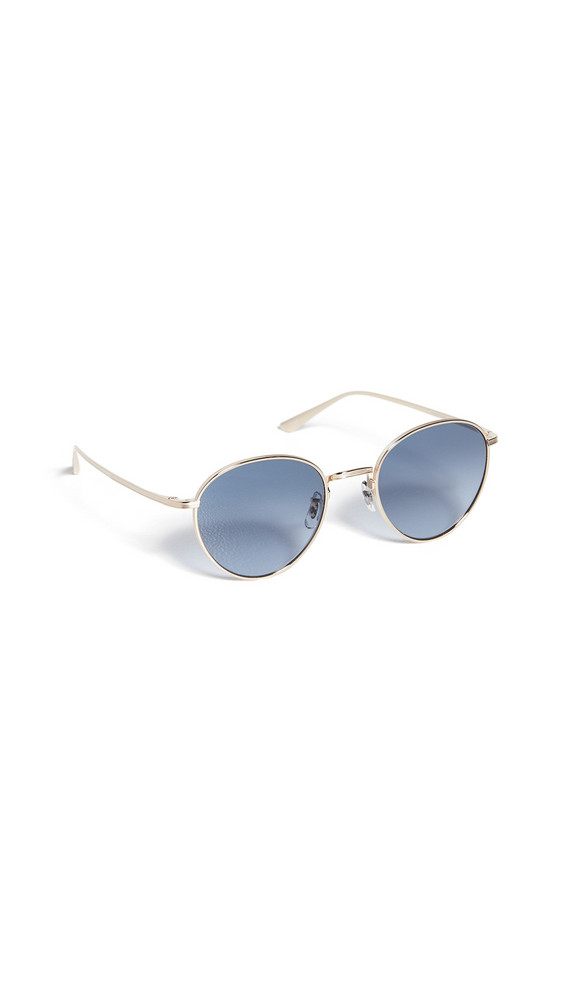 Oliver Peoples The Row Brownstone Sunglasses in gold
