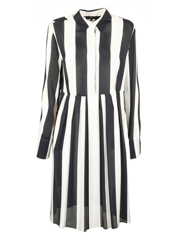 Fay Shirt Dress in blue / white