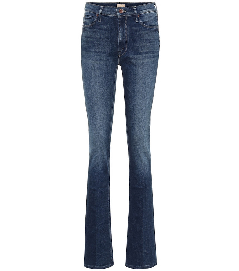 Mother Runaway high-rise jeans in blue