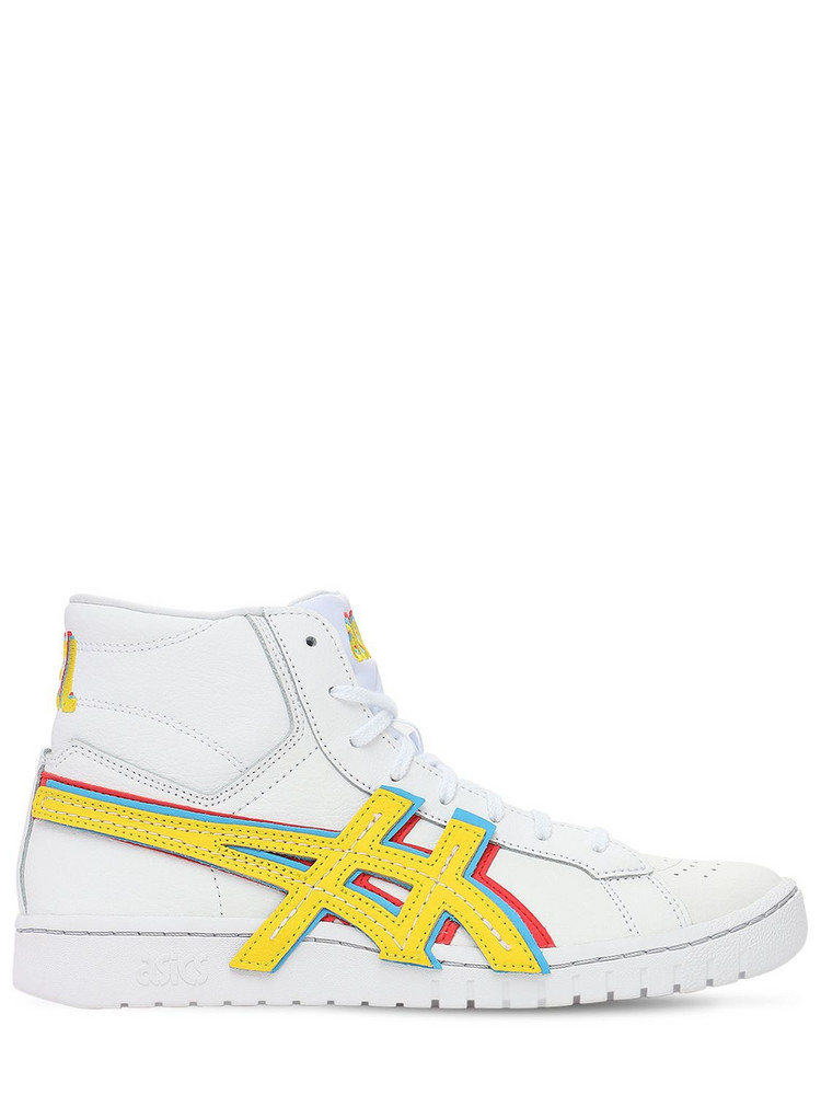ASICS Atmos Gel-ptg Mt Sneakers in white / yellow