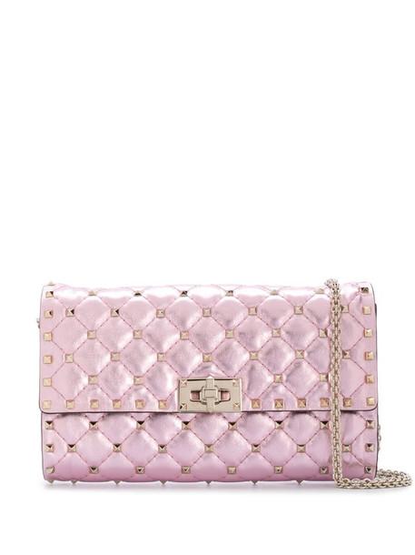 Valentino Garavani Rockstud Spike crossbody bag in pink
