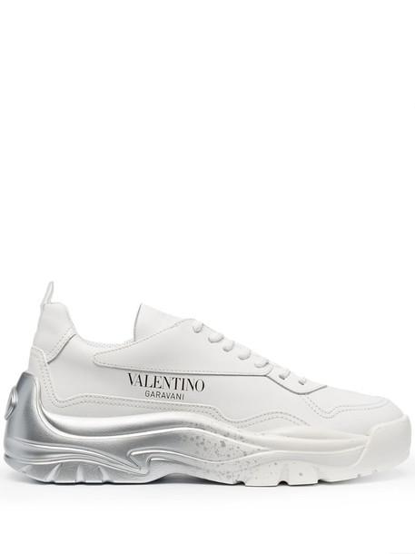 Valentino Garavani Gumboy low-top sneakers in white