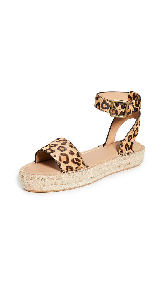 Soludos Cadiz Sandals in leopard