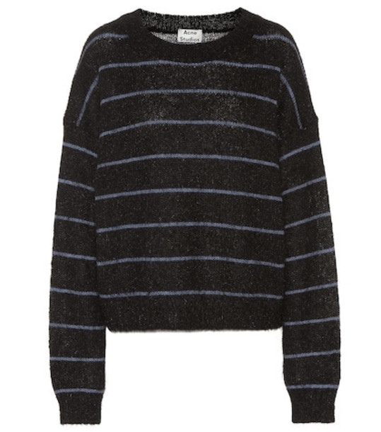 Acne Studios Kassidy wool-blend sweater in blue