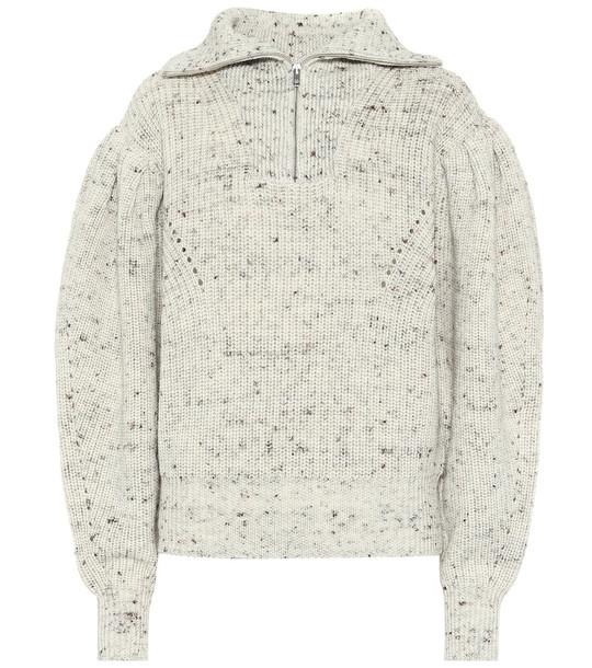 Isabel Marant Kuma wool sweater in white