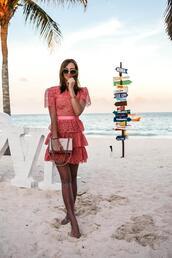 vogue haus,blogger,dress,bag,sunglasses