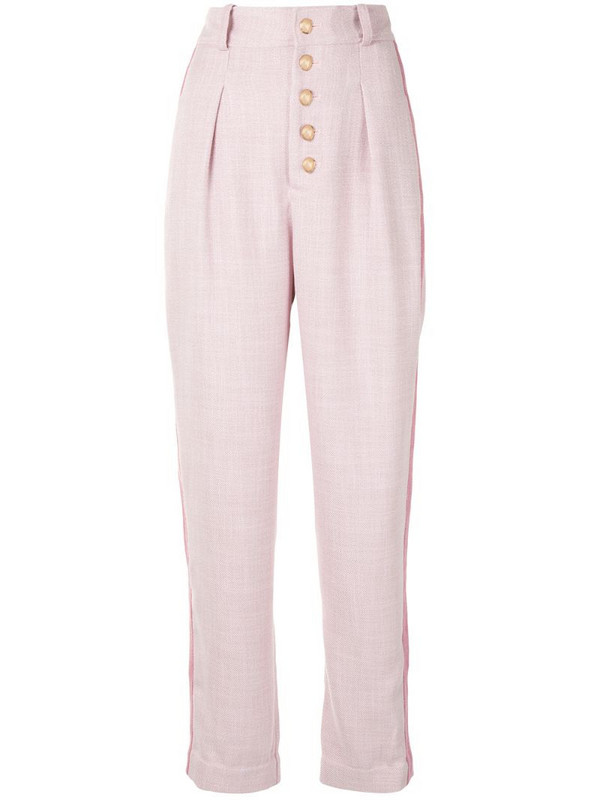 Acler Kings balloon-leg trousers in pink