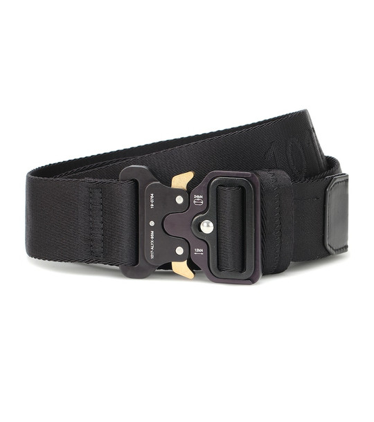 1017 ALYX 9SM Classic Rollercoaster belt in black